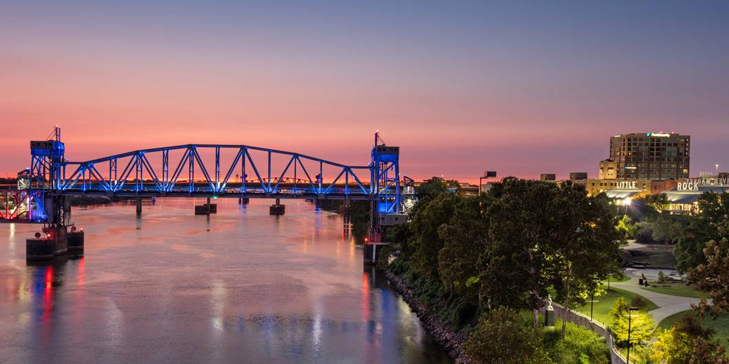 Little Rock, Arkansas's Facts Maps and Attractions