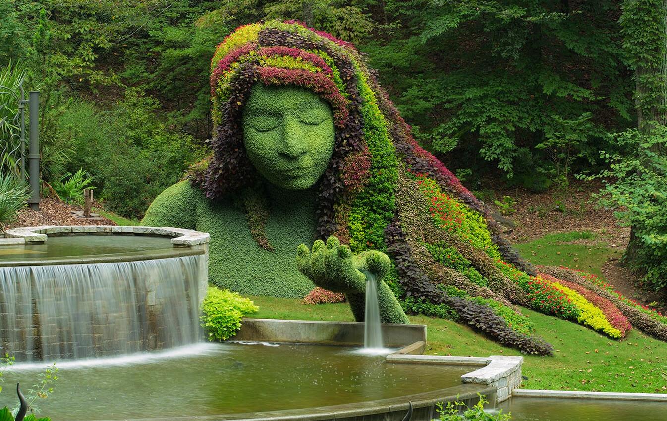Atlanta Botanic Garden.