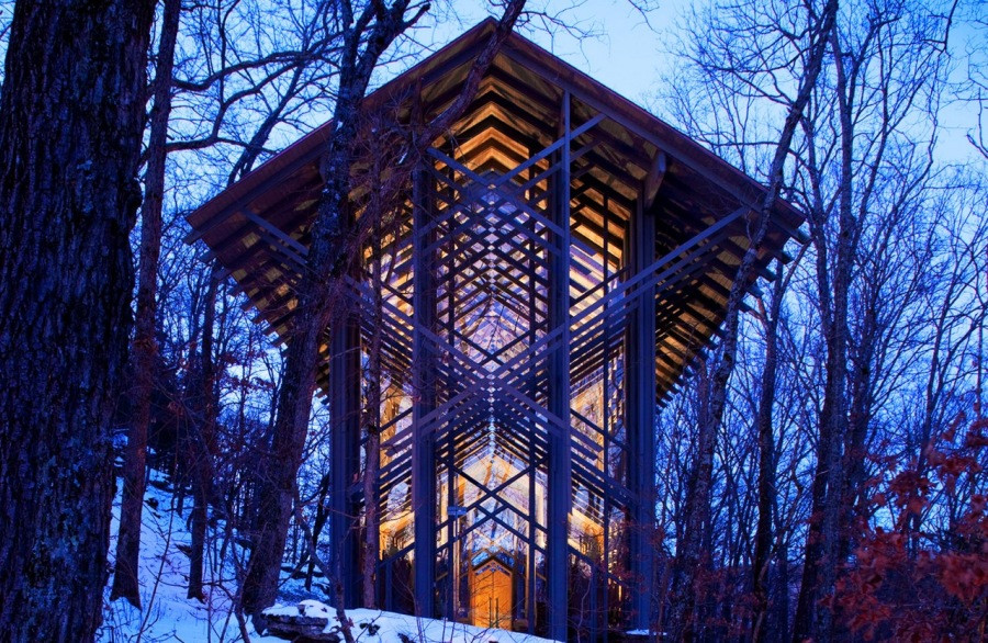 Thorncrown Chapel, Arkansas's Facts Maps and Attractions